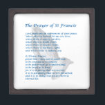"""The St Francis Prayer Keepsake Box<br><div class=""""desc"""">The St Francis Prayer,  sometimes called the Prayer of Peace,  is perhaps the best-loved prayer in the Catholic Church. Its popularity may have been further enhanced with the election of Pope Francis.</div>"""