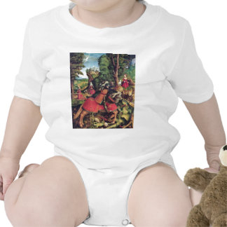 The St George Fighting The Dragon By Beck Leonhar Bodysuit