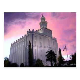 The St. George Utah LDS Temple Postcard