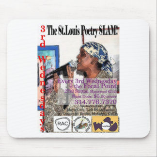 The St. Louis Poetry Slam shwag Mousepad