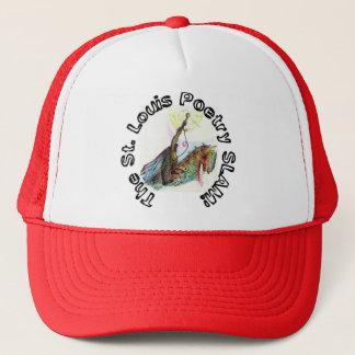 The St. Louis Poetry Slam shwag Trucker Hat