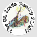 The St. Louis Poetry Slam Sticker