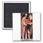 The St. Mark By Beccafumi Domenico 2 Inch Square Magnet
