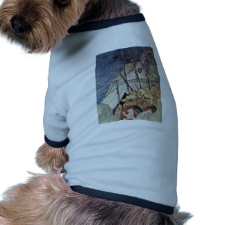 The St. Martin Can Be Suspended By The Emperor Pet T-shirt