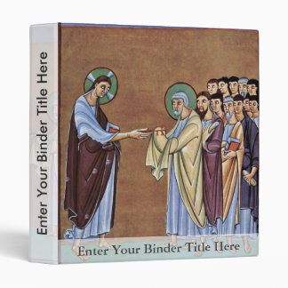 The St. Peter Receiving The Keys By Meister Des Pe Binders