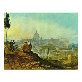 The St. Peter'S Church From The South By Turner J 4.25x5.5 Paper Invitation Card