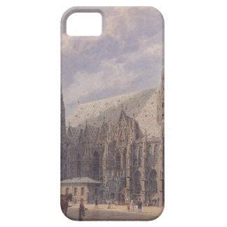 The St. Stephen's Cathedral in Vienna by Rudolf vo iPhone SE/5/5s Case