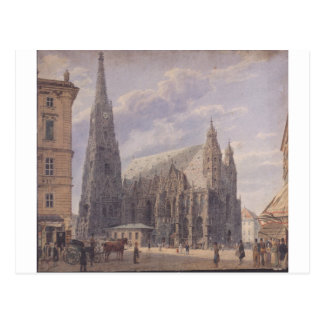 The St. Stephen's Cathedral in Vienna by Rudolf vo Postcard