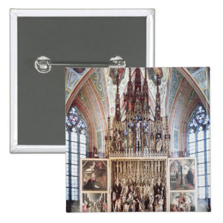 The St. Wolfgang Altarpiece  1471-81 Button
