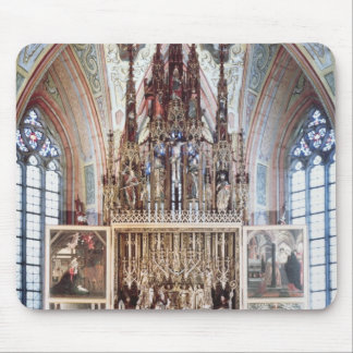 The St. Wolfgang Altarpiece  1471-81 Mouse Pad