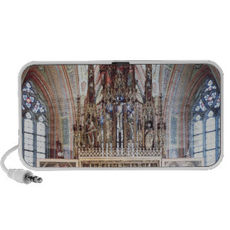 The St. Wolfgang Altarpiece  1471-81 Portable Speaker