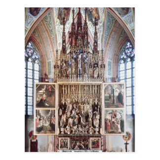 The St. Wolfgang Altarpiece  1471-81 Postcard