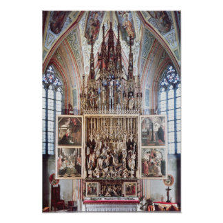 The St. Wolfgang Altarpiece  1471-81 Poster
