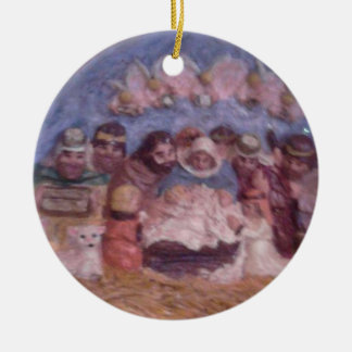 THE STABLE CHRISTMAS ORNAMENT