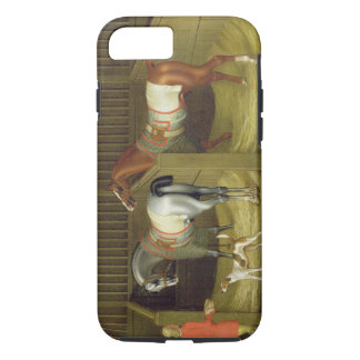 The Stables and Two Famous Running Horses belongin iPhone 7 Case