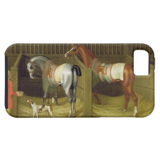 The Stables and Two Famous Running Horses belongin iPhone SE/5/5s Case