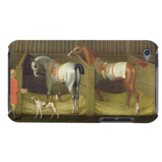 The Stables and Two Famous Running Horses belongin iPod Case-Mate Case