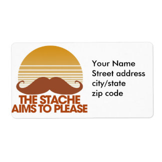 The Stache Aims to Please Label