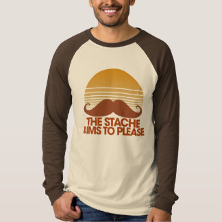 The Stache Aims to Please Tee Shirt