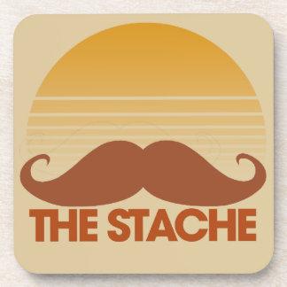 The Stache Beverage Coaster