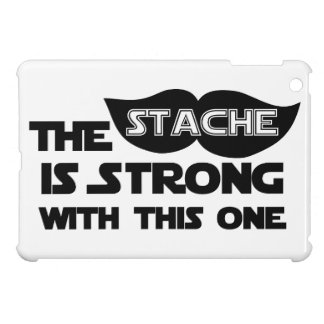 The Stache is Strong With This One iPad Mini Cover