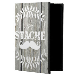 The Stache Moustache Pattern iPad Air Covers