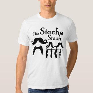 The Stache Stash T-Shirt