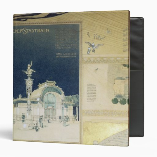 The Stadtbahn Pavilion of the Vienna 3 Ring Binder