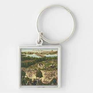 The Stag Hunt Keychain