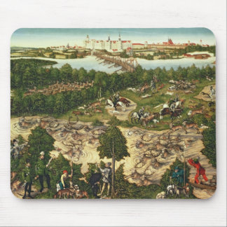 The Stag Hunt Mouse Pad