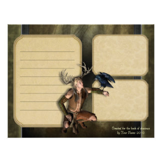 The Stag Keepsake Paper Personalized Letterhead