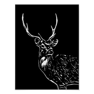 The Stag wall art