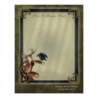 The Stag Writing Paper Letterhead