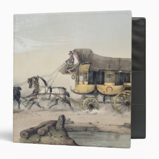 The Stage Coach 3 Ring Binder