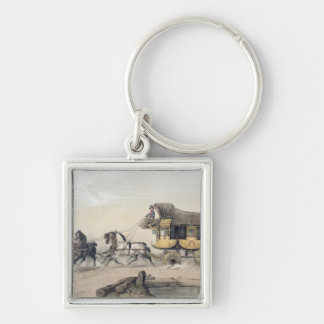The Stage Coach Keychain