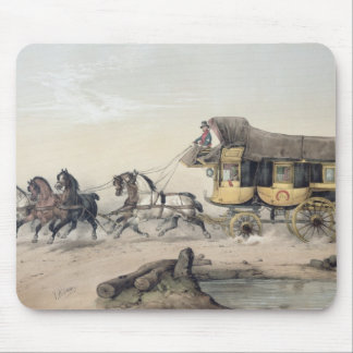 The Stage Coach Mouse Pad
