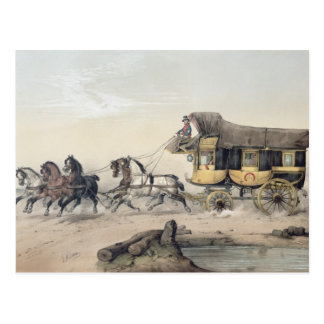 The Stage Coach Postcard