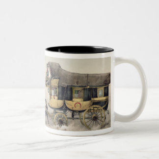 The Stage Coach Two-Tone Coffee Mug