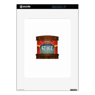 the stage goes on skin for iPad