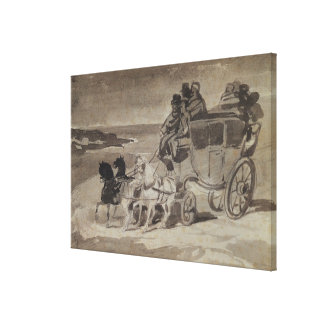 The Stagecoach Canvas Print