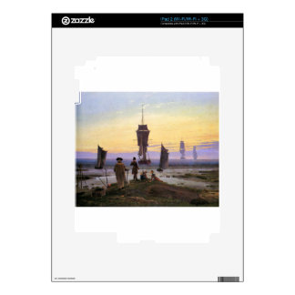 The stages of life by Caspar David Friedrich Decal For The iPad 2