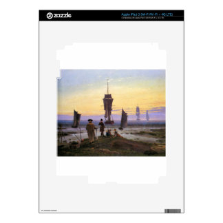 The stages of life by Caspar David Friedrich iPad 3 Skin