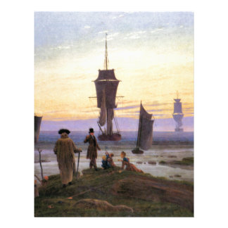 The stages of life by Caspar David Friedrich Letterhead