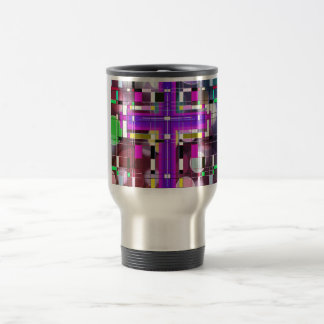 The Stained Glass Holy Cross. Travel Mug