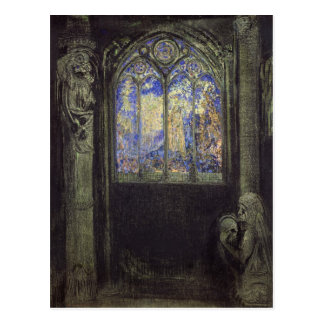 The Stained Glass Window, 1904 Postcard