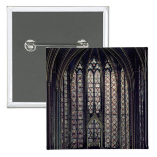 The stained glass window pin