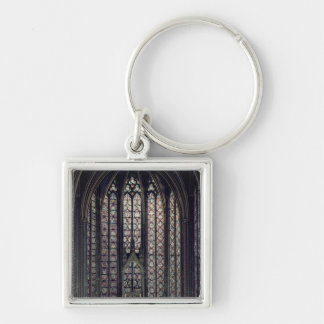The stained glass window key chain