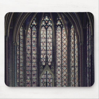 The stained glass window mouse pad