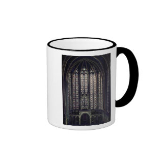 The stained glass window ringer coffee mug