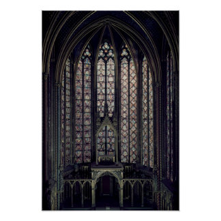 The stained glass window posters